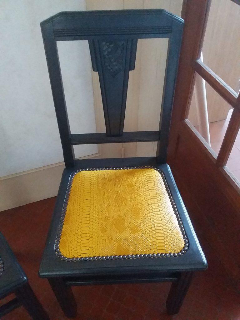 Chaise art nouveau-Laura Dobosz