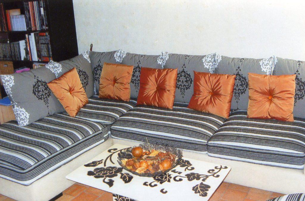 Canapé d'angle-LD Tapisserie